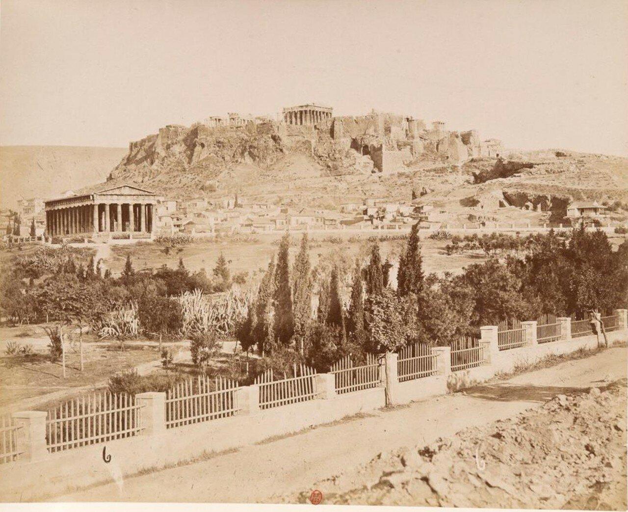 02. Гефестийон и вид на Акрополь