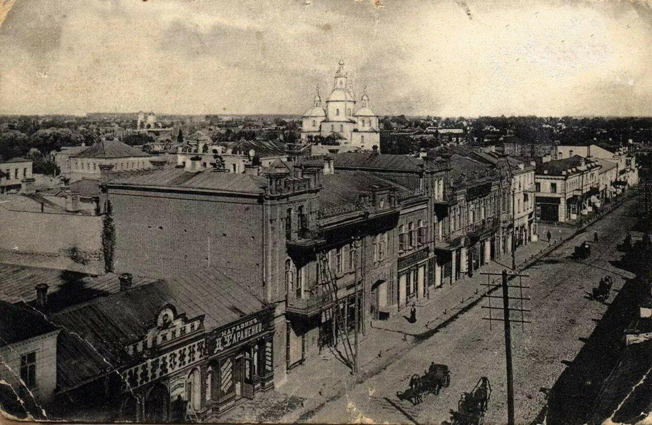 Улица Соборная. Вид с колокольни Спасо-Преображенского собора