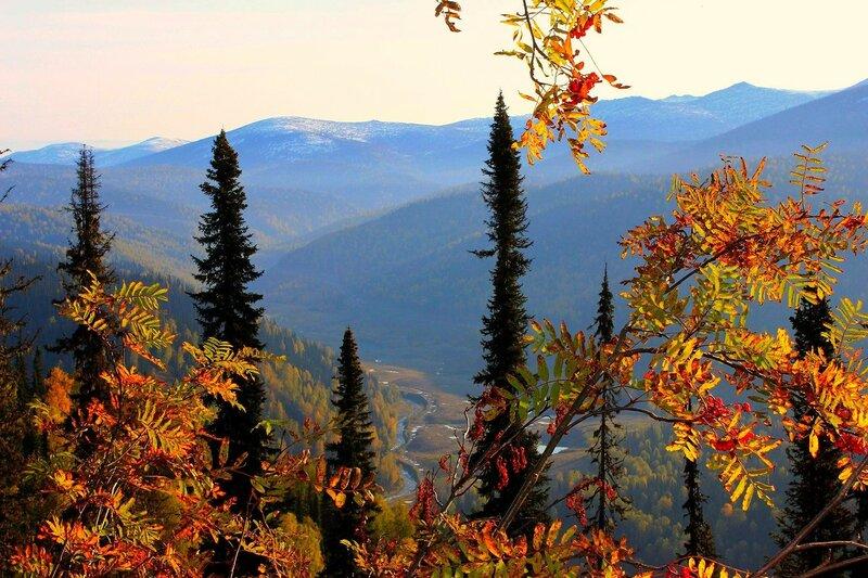 Утренний взгляд в долину