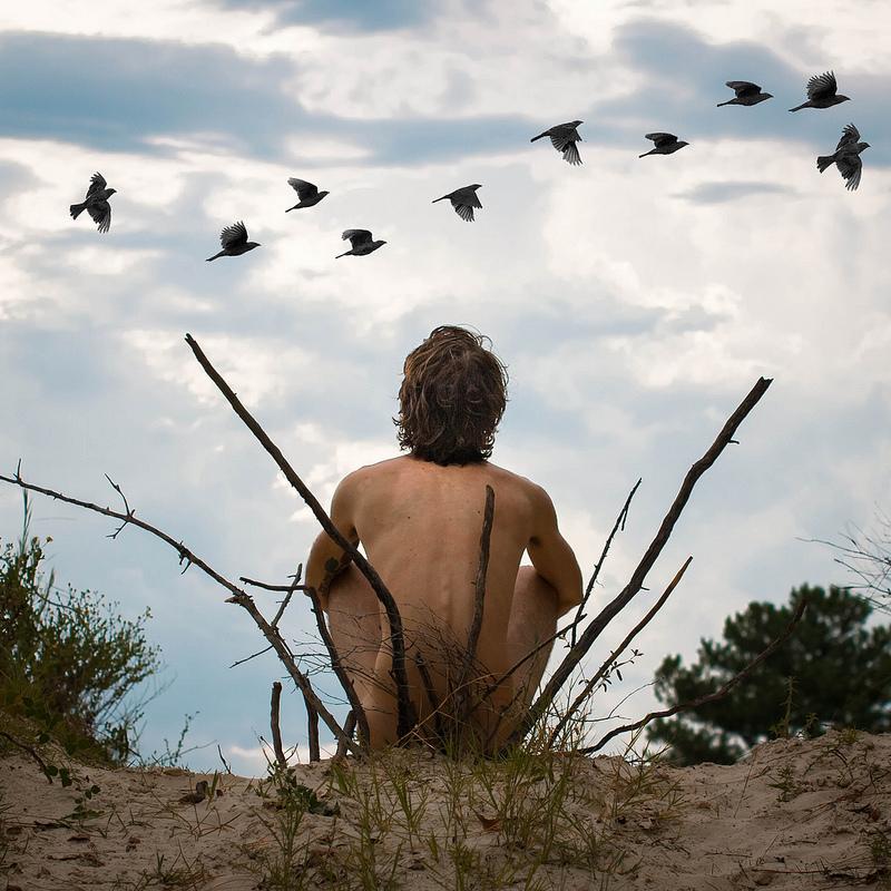 Серия сюрреалистических фотографий Дигги Витт