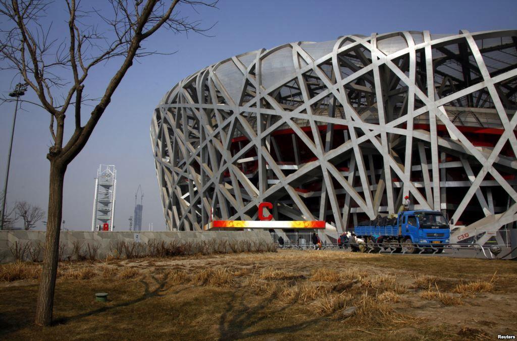 Бывшая водная трасса для каяков, Пекин 2008