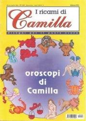 Журнал I Ricami di Camilla disegni per il punto croce Anno VIII №2 - 2002