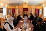 Расширенный Епархиальный Совет с участием епископа Ферапонта в помещении храма