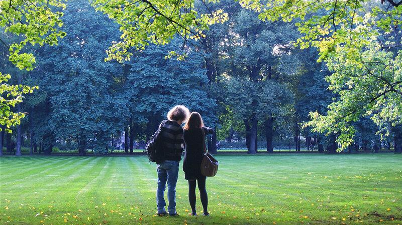 Фотосессия в Михайловском саду