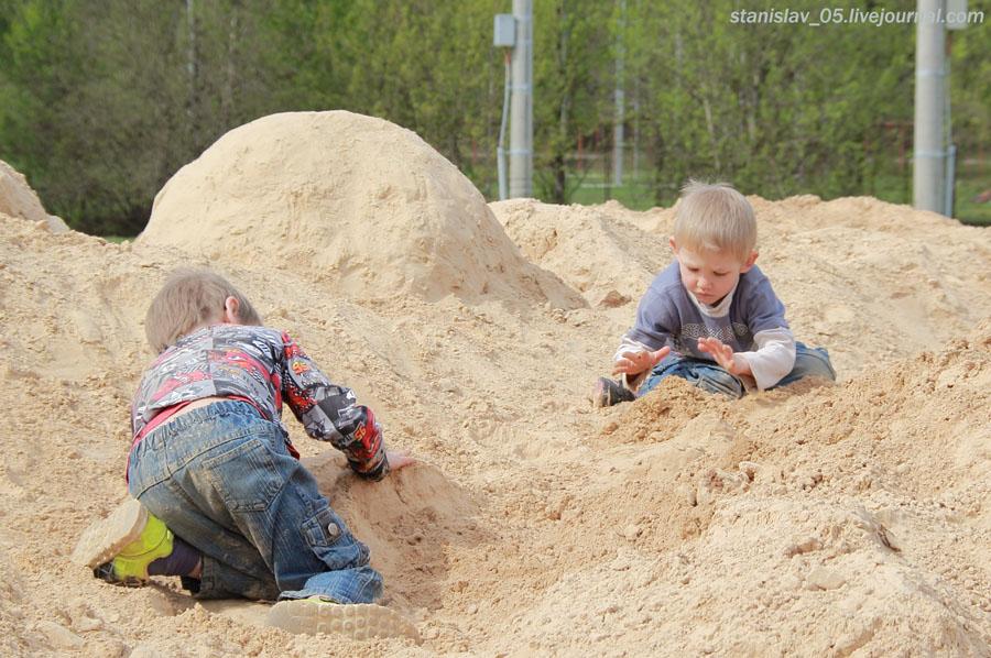 Cтроим замок из песка