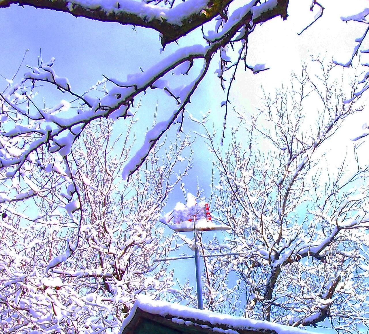 Зимний флюгер