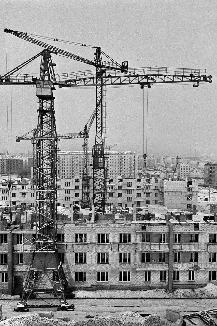 1959. Жилищное строительство в Юго-Западном районе Москвы