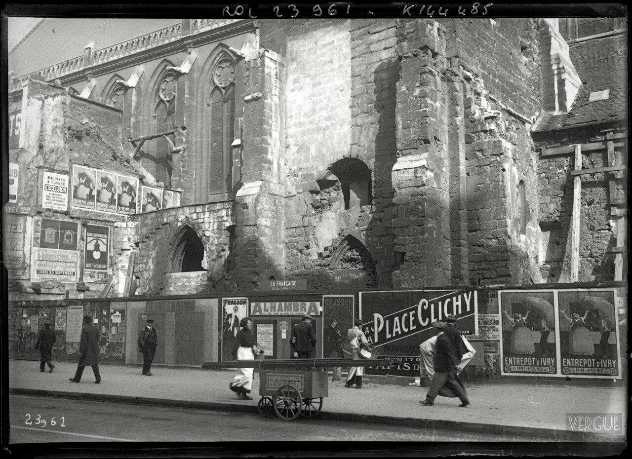 1913. Церковь Сен-Мартен-де-Шам (консерватория искусств и ремесел), фасад