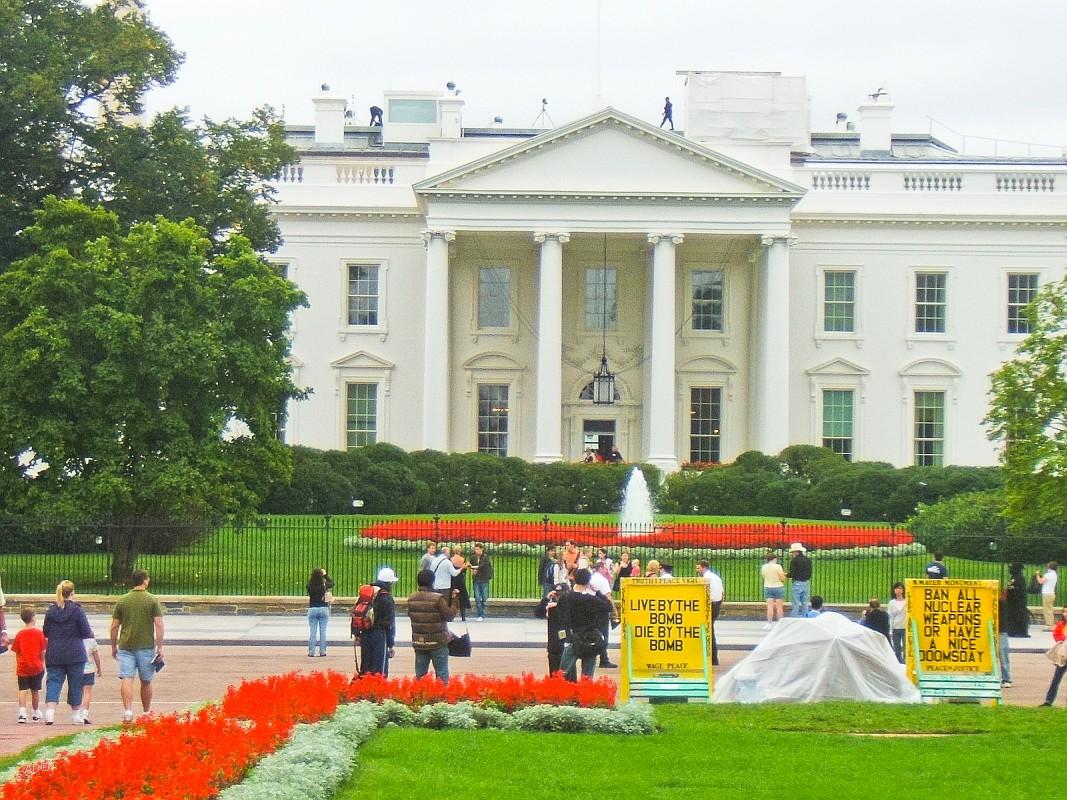 Белый дом (резиденция Президента США)
