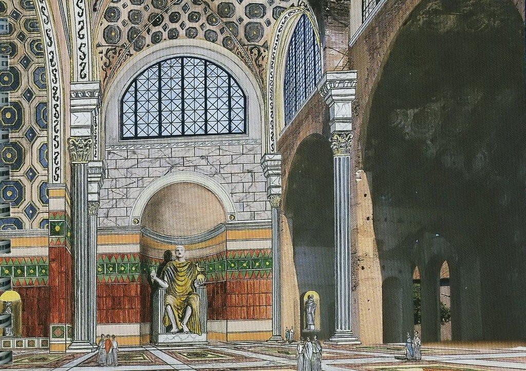 Базилика Максенция (реконструкция).