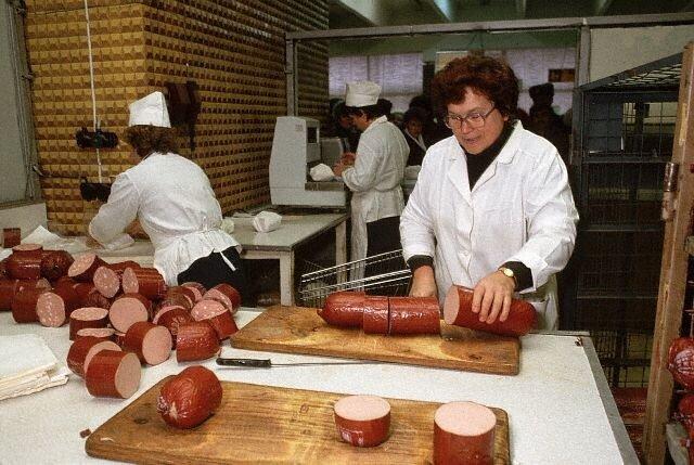 Butcher Shop in Russia