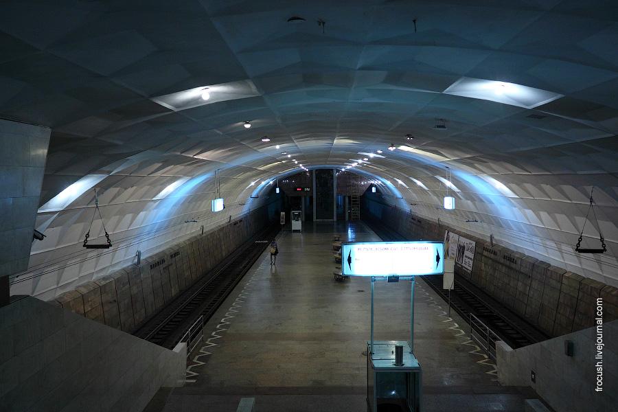 Волгоградский скоростной трамвай. Станция «Площадь Ленина».