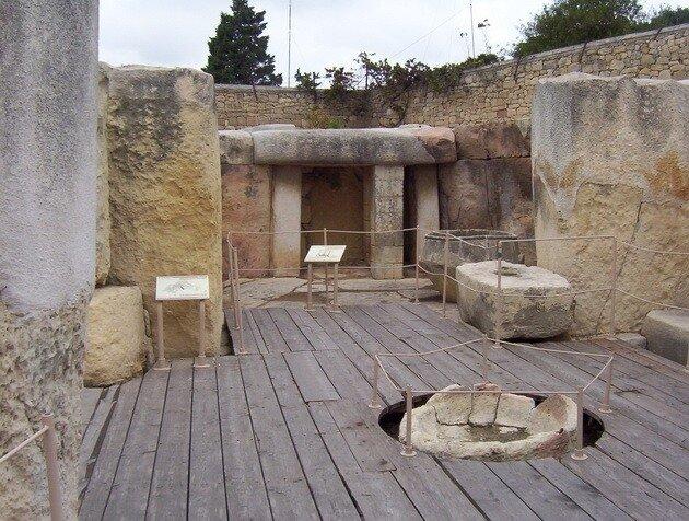 Мегалитические храмы Мальты. Таршие