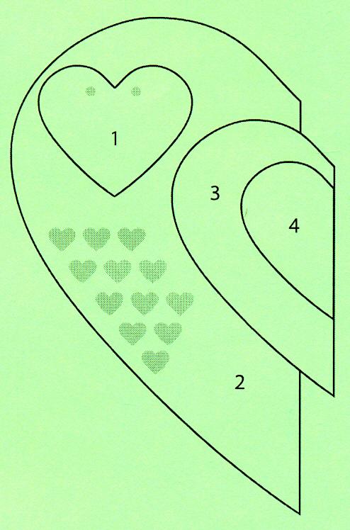 Открытки с сердечками