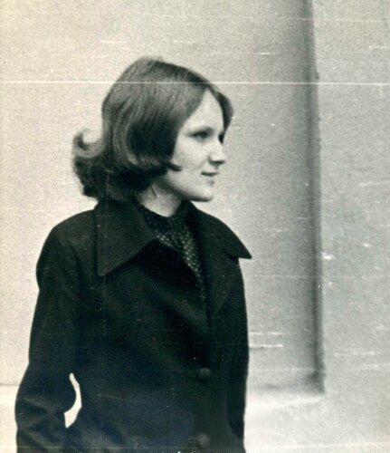 Студентка 70-х