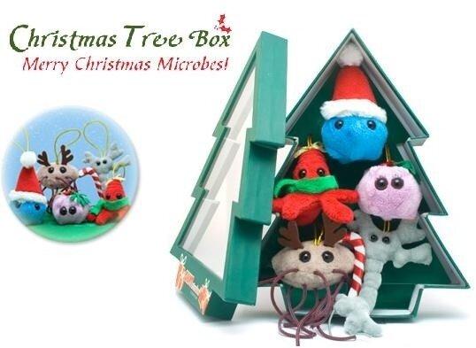 мягкие игрушки микробы