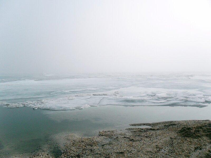 Ясенская коса, переправа, тот берег в тумане...