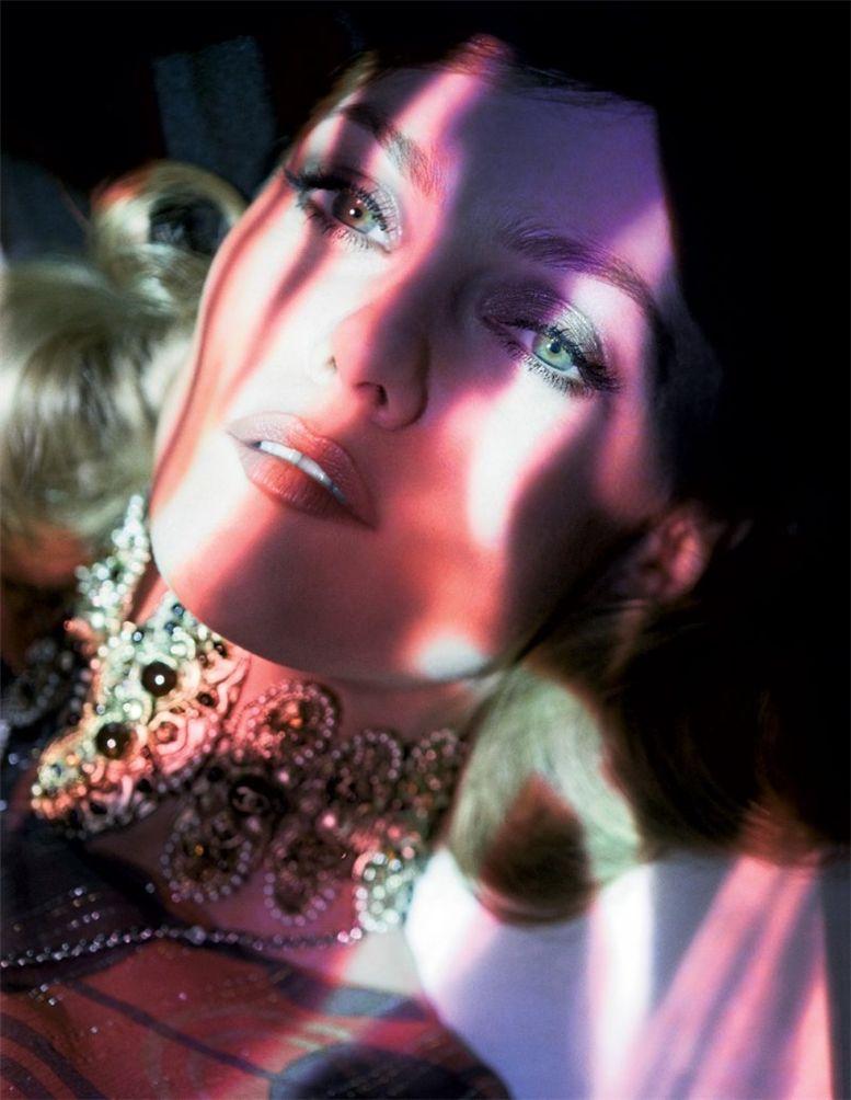 модель Vanessa Paradis / Ванесса Паради, фотограф Mikael Jansson