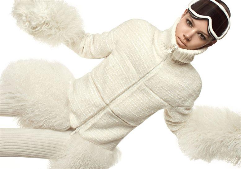 модель Фрая Беха Эриксен / Freja Beha Erichsen, фотограф Steven Meisel