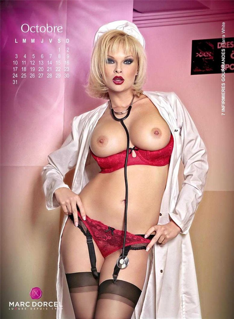 календарь Marc Dorcel 2011 calendar - Tarra White / 7 Infirmiers Gourmandes