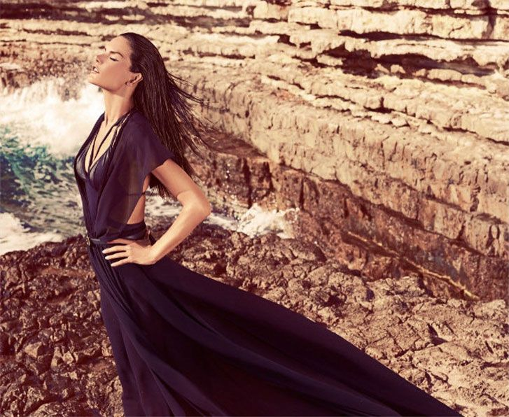 модель Алессандра Амбросио / Alessandra Ambrosio, фотограф Koray Birand