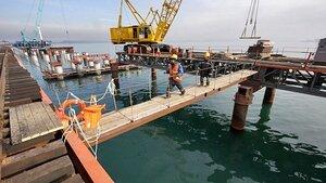 Во Владивостоке продолжается строительство низководного моста Де-Фриз - Седанка