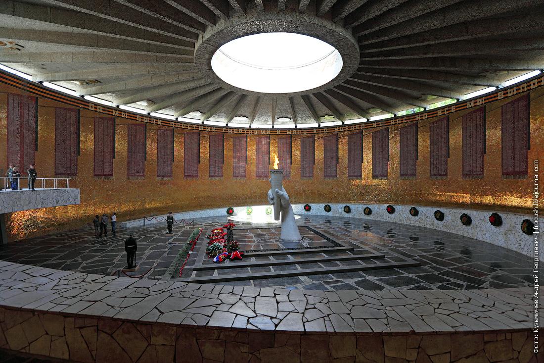 Зал Воинской Славы Мамаев курган