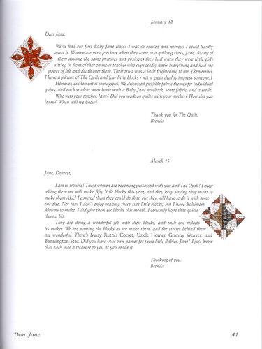 Dear Jane Пэчворк