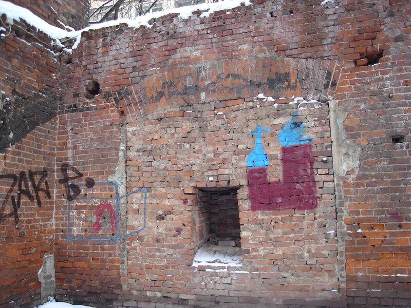 Стены бывшего завода П.А. Смирнова,1863г.