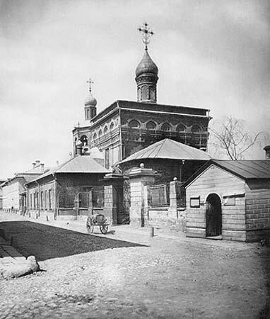 Церковь Архангела Михаила в Овчинниках,1882г.