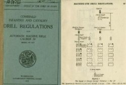 Книга Combined Infantry and Cavalry Drill Regulations for Automatic Machine Rifle, Caliber .30, Model of 1909
