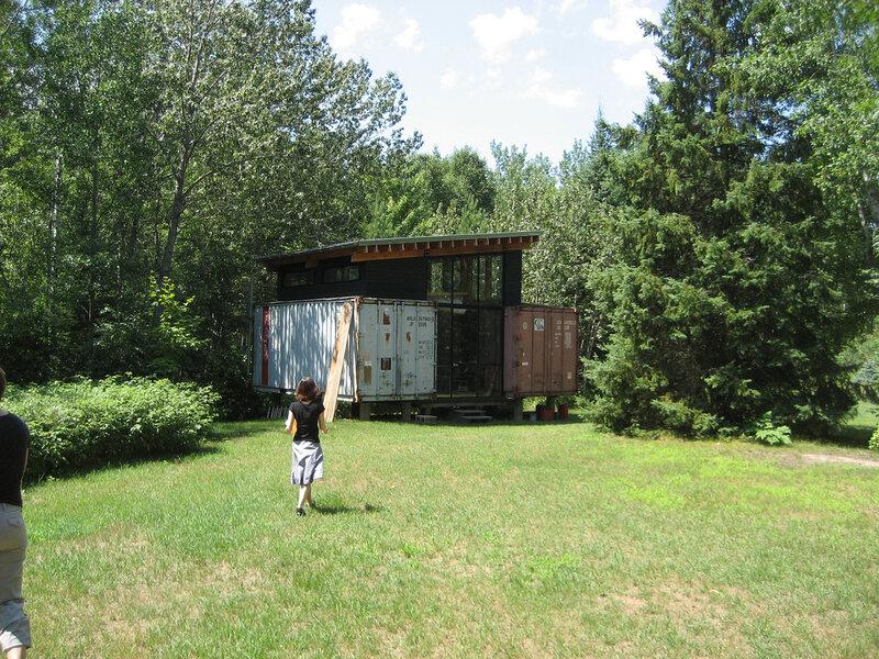 дома из контейнеров фото