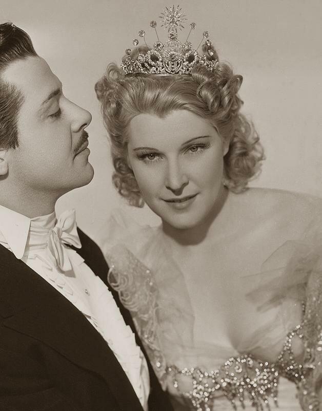 """Милица Корьюс, """"Большой вальс"""", 1938 год"""