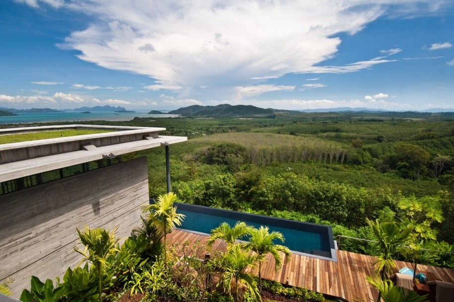 Роскошная вилла с видом на залив в Пхукете, Таиланд