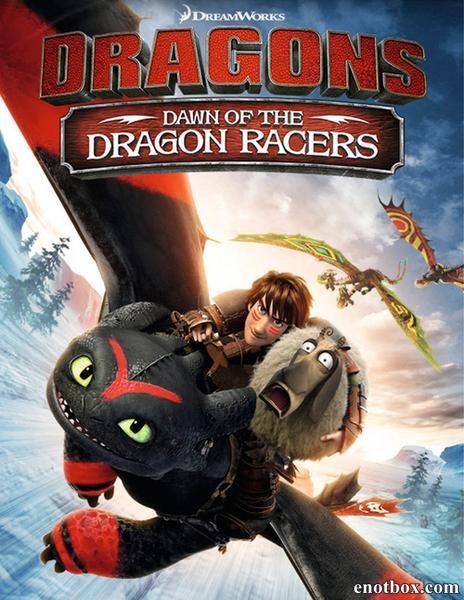 Драконы: Гонки бесстрашных. Начало / Dragons: Dawn of the Dragon Racers (2014/BD-Remux/BDRip/HDRip)