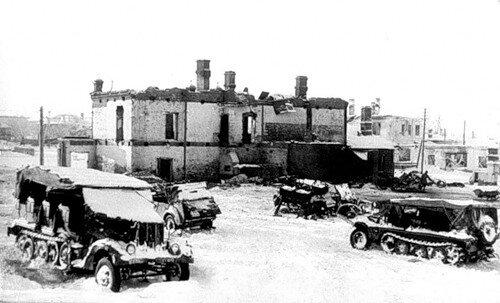 Дом-музей П. И.Чайковского, март 1942