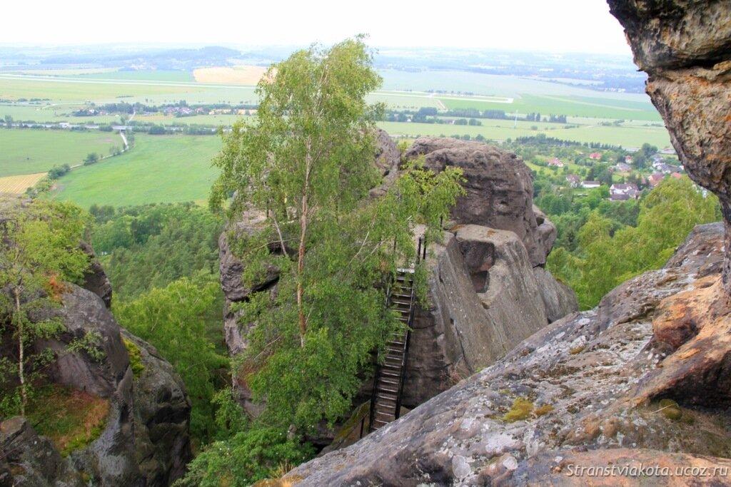 Чехия, Чешский Рай, Драбске Светнички