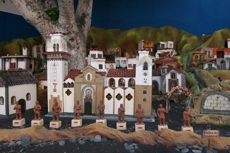 Рождественский макет в Канделярии, Тенерифе