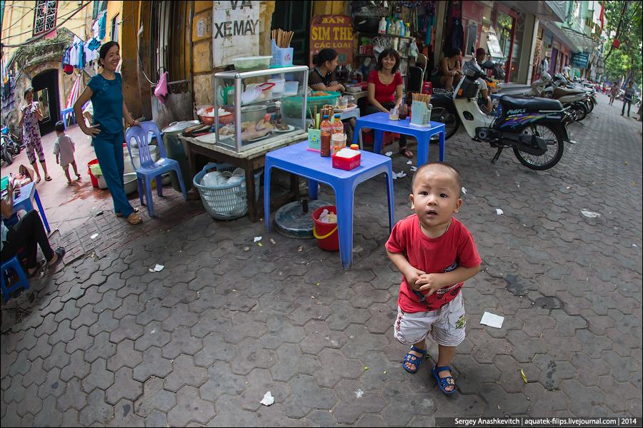 Жизнь ханойской улицы