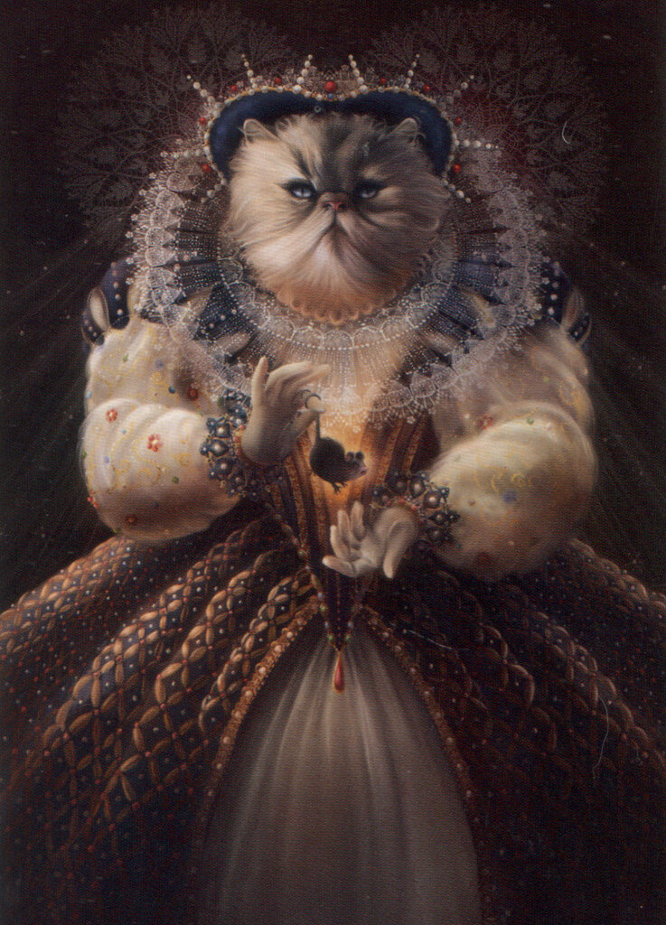 Christina Hess .Queen Cat