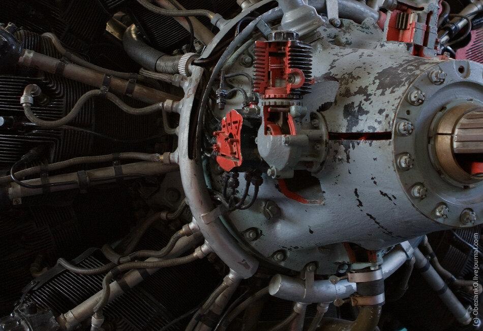 Двигатель И-16