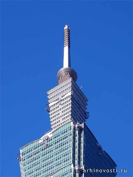 Волшебный шар тайбэйского небоскреба