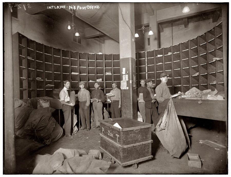 Как работала нью-йоркская пневматическая почта