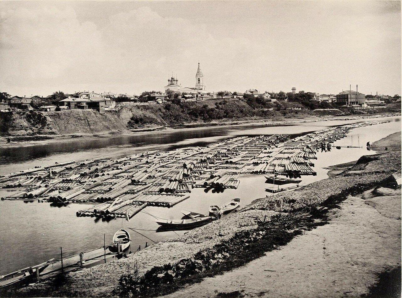 284. Вид с левого берега Москвы реки