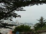 Вид на восточную часть даунтауна от башни Коен