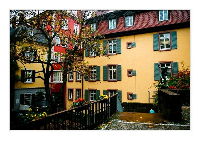 Фрайбург. Южная Германия.