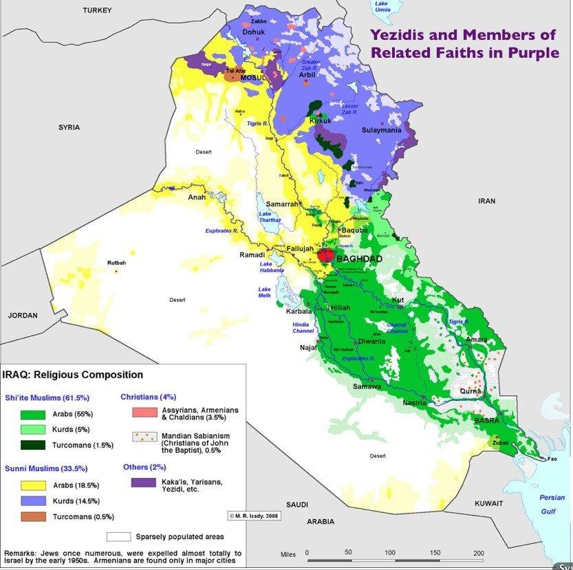 Религиозный состав Ирака