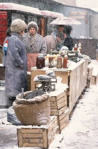 1993-Moscow, Markets