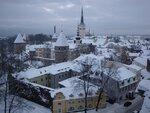 Зимнее утро в Таллинне
