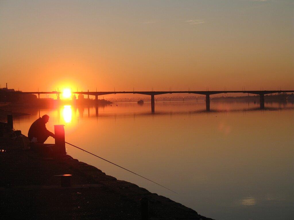 рыбалка в перми у моста